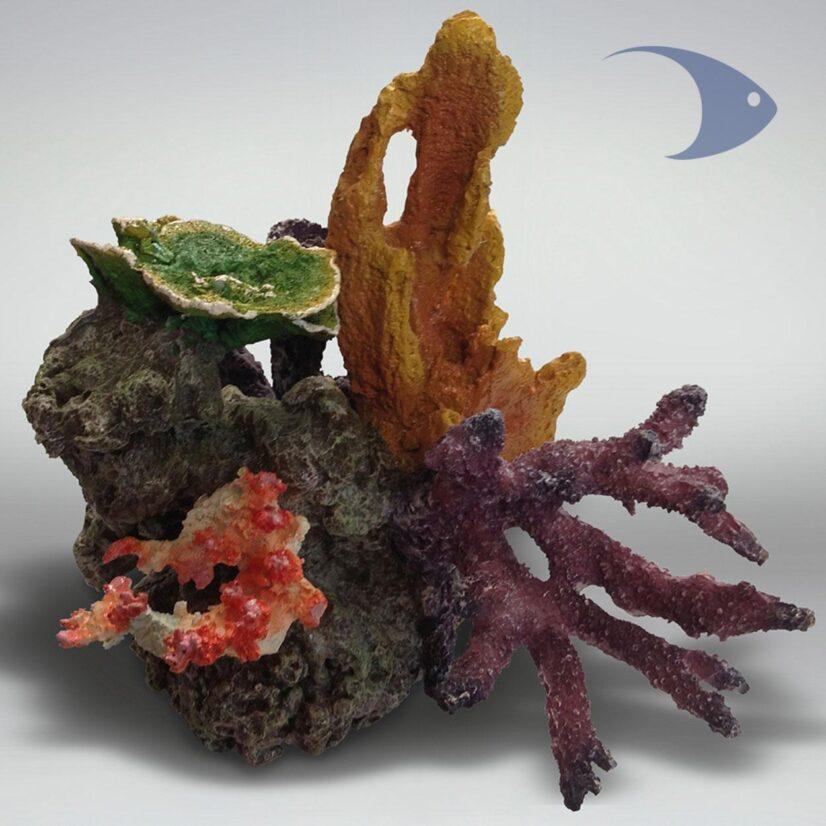 Composición de corales artificiales Decoline