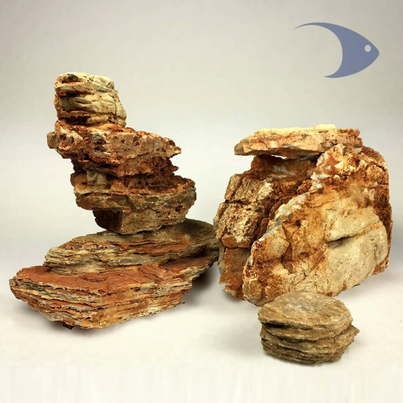 Rocas decorativas naturales Pagoda Ligera Ideas Marinas Decoline