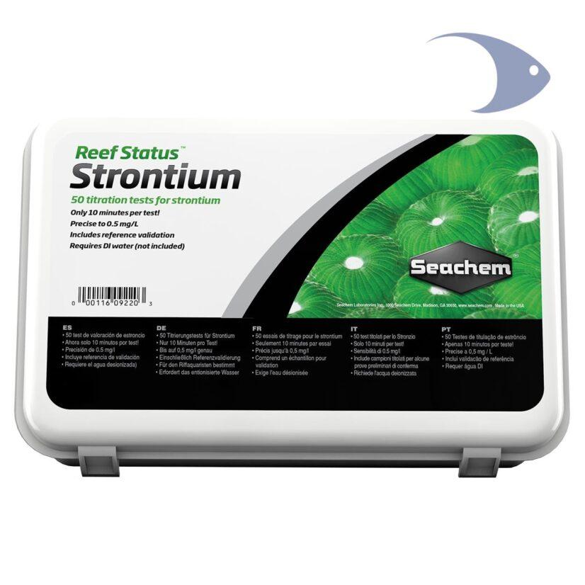 Reef Status Strontium