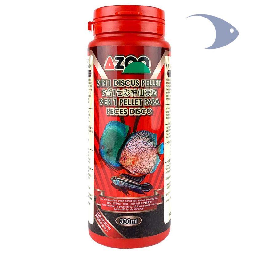 AZOO 9 in 1 Discus Pellet