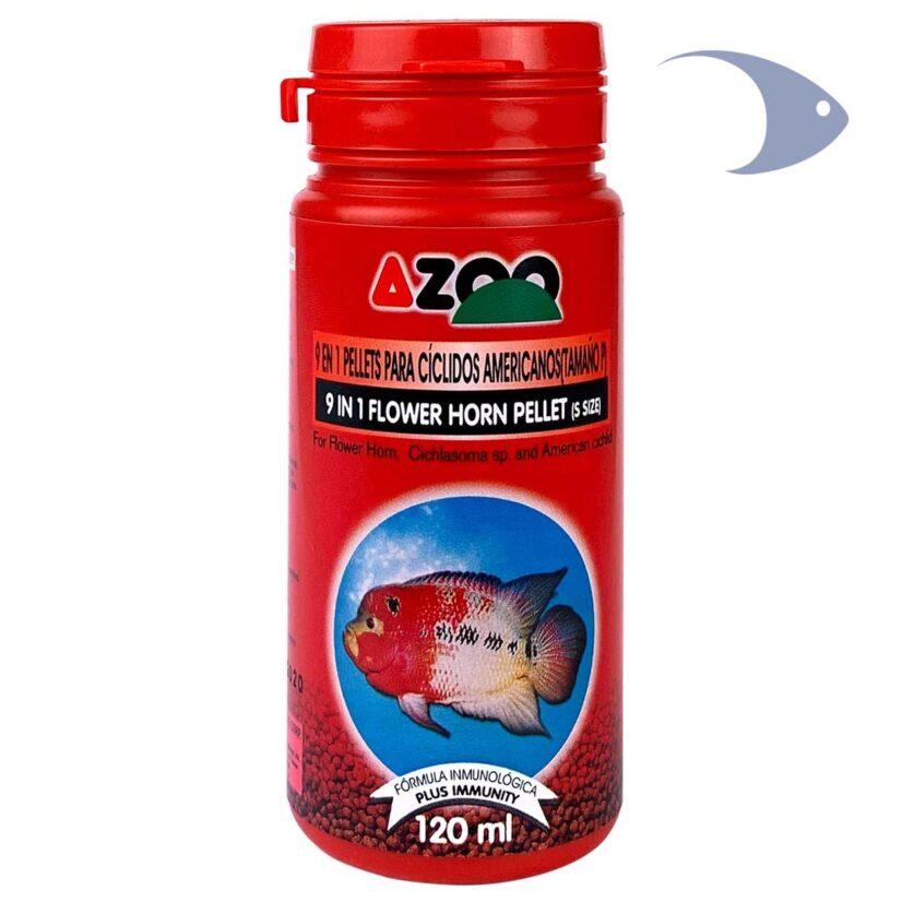 AZOO 9 in 1 Flower Horn Pellet