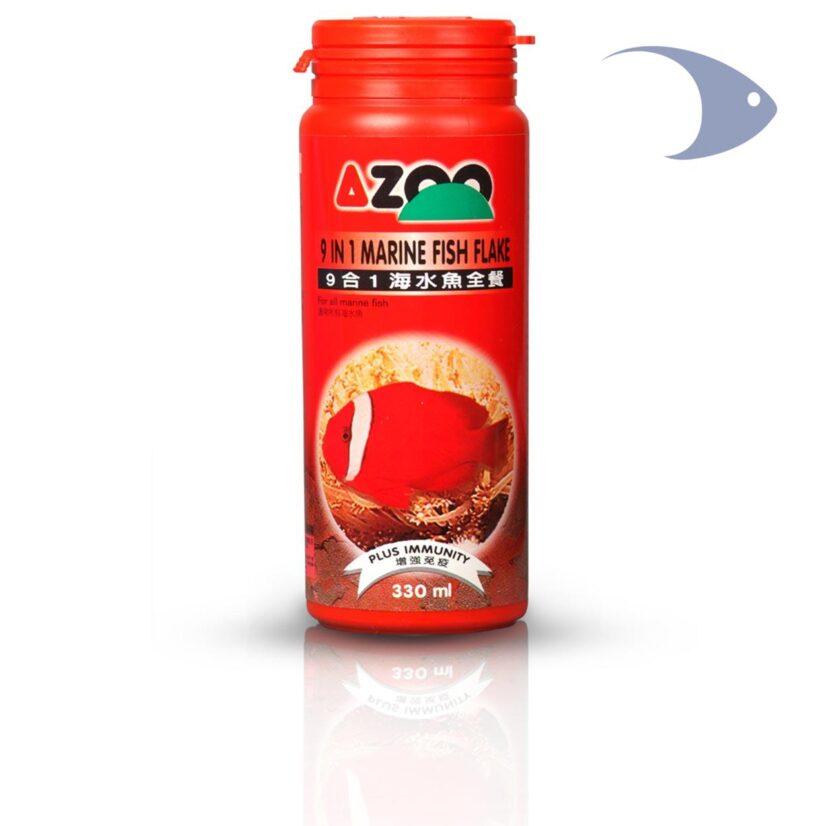 AZOO 9 in 1 Marine Fish Flake