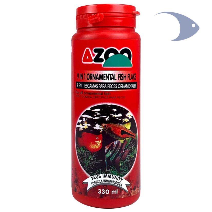 AZOO 9 in 1 Ornamental Fish Flake