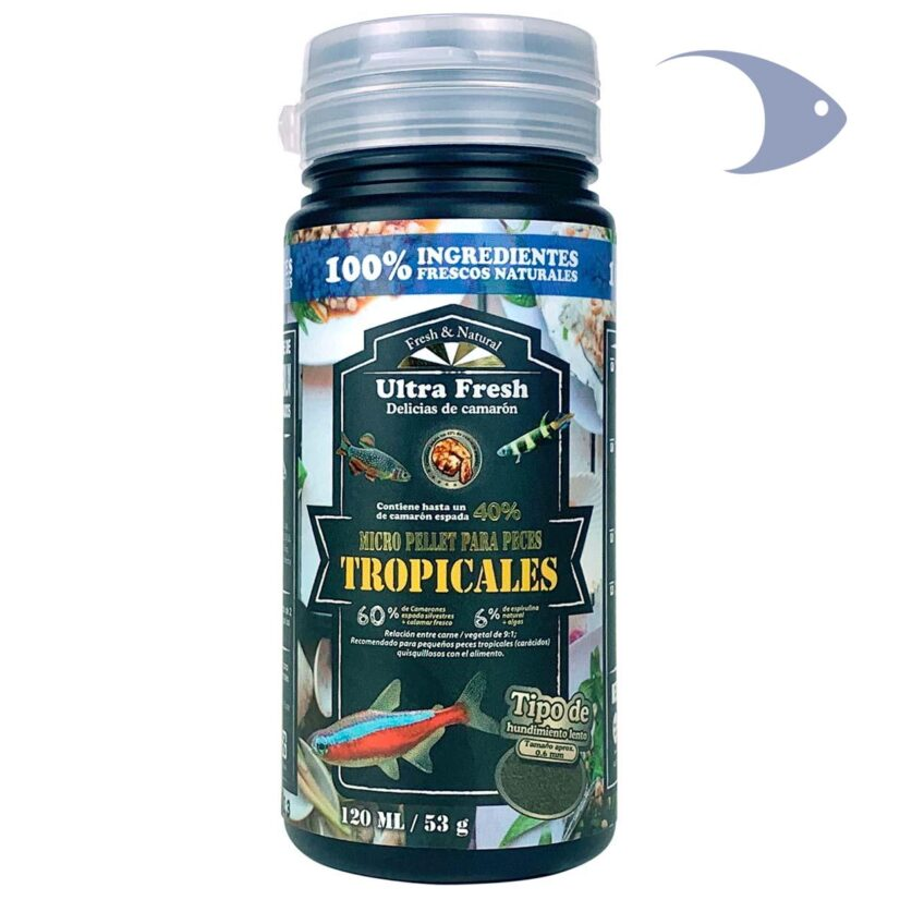 Ultra Fresh Micro pellet para peces tropicales