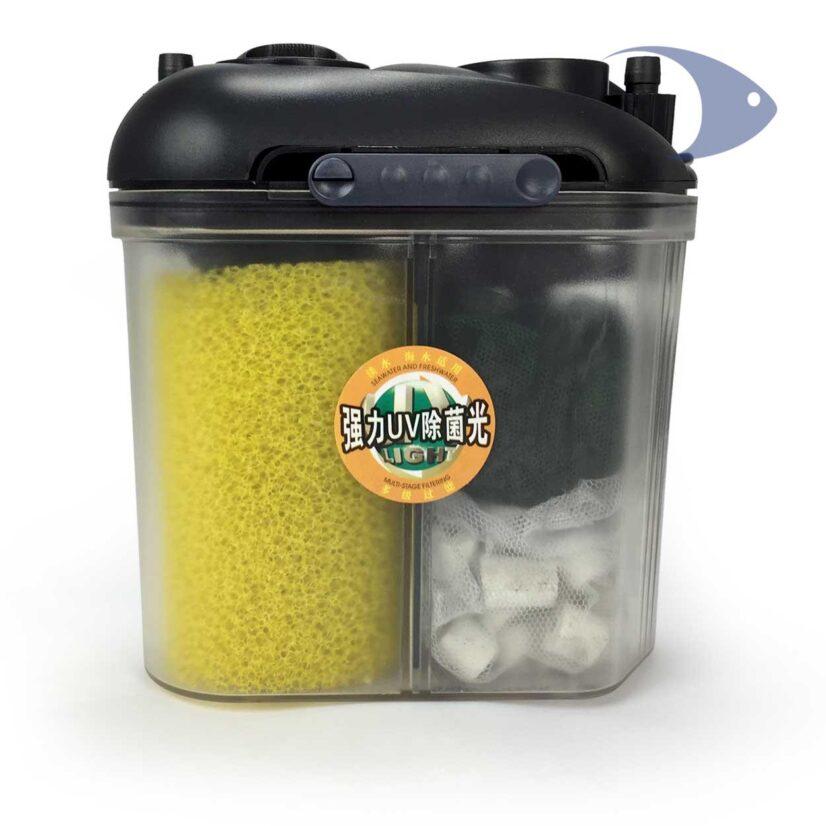 Filtros canister compactos BOYU EF y EFU