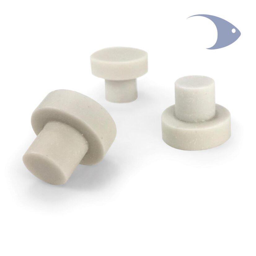 Bases cerámicas ISTA para fragmentos de corales