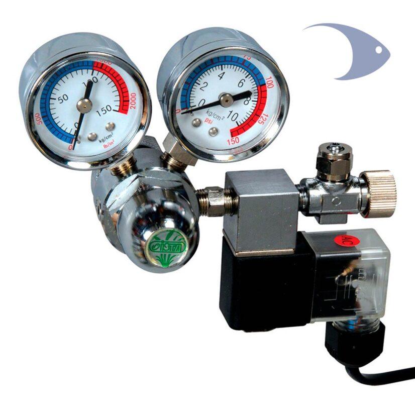 Regulador para CO2 con solenoide ISTA
