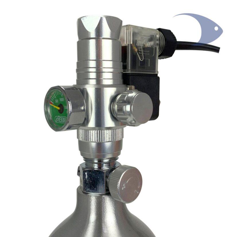 Regulador para CO2 ISTA de montaje vertical