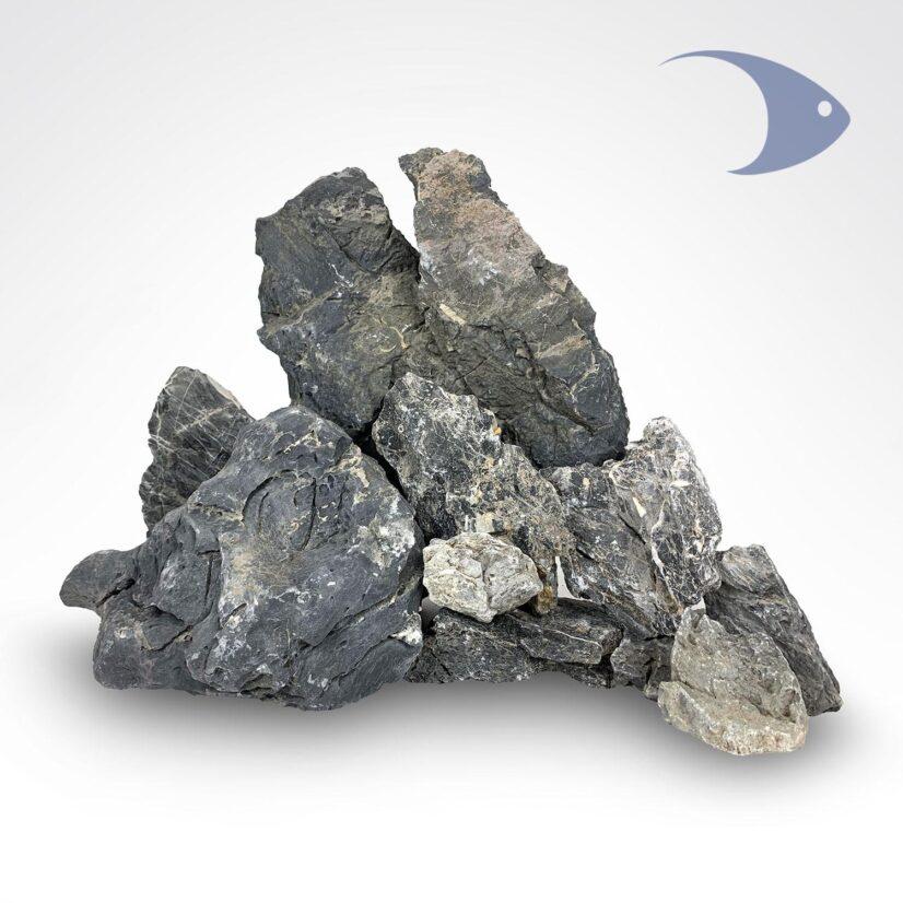 Rocas decorativas naturales Paisaje Black